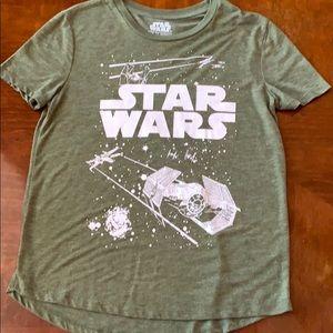 Star Wars Green t shirt